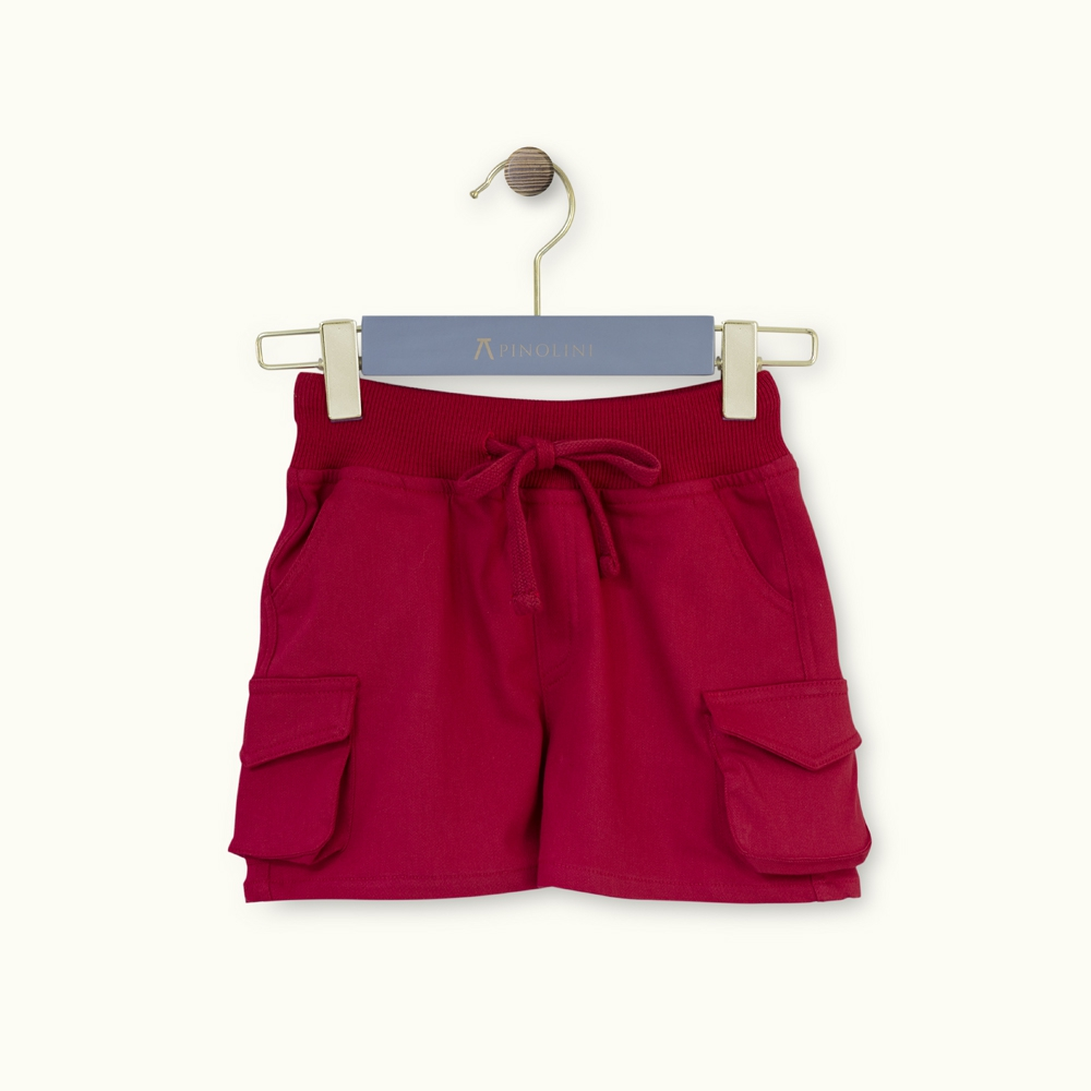Regular fit cotton short