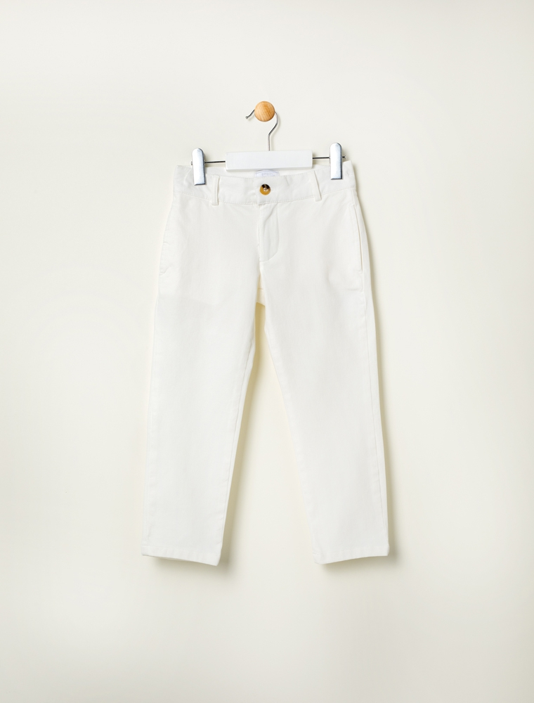 Boy's cotton stretch pants